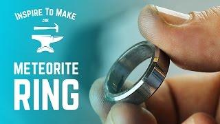 Making a Meteorite Ring