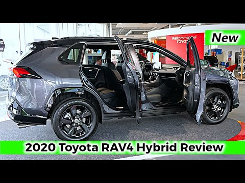 2020 Toyota RAV4 Hybrid Review Interior Exterior