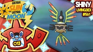 Sigilyph  - (Pokémon) - WORMHOLE SHINY SIGILYPH!! Quest For Shiny Living Dex #561 | Ultra Sun and Moon Shiny #013