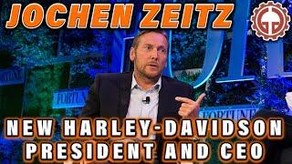 Harley-Davidson names Jochen Zeitz president and CEO