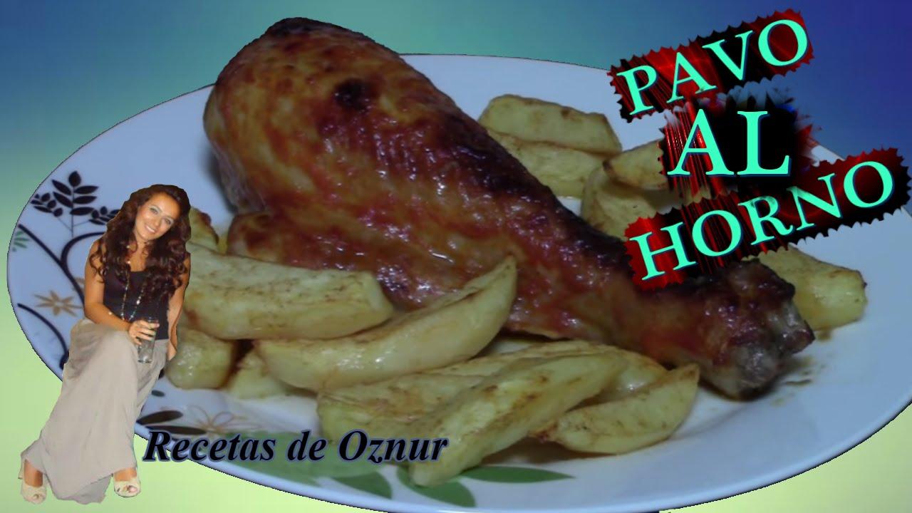 MUSLOS DE PAVO AL HORNO | recetas de cocina faciles rapidas y economicas de hacer - comidas ricas