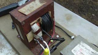 Homemade Arc Welder 120v AC
