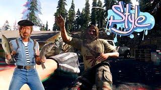 БОМЖИ ПРОТИВ ЧАК НОРРИСА   Far Cry 5 Лучшие моменты, Баги, Приколы