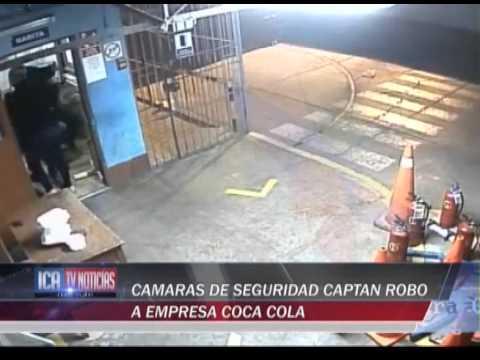 CAMARAS DE SEGURIDAD COCA COLA