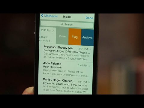 CNET How To – Getting to know the updated Mail app in iOS 8