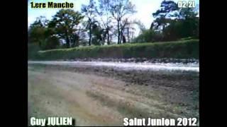 preview picture of video 'Guy JULIEN - Saint Junien 2012 - 1.ere manche'