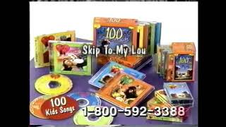 100 Kids Songs | Time Life Music | Television Commercial | 2000