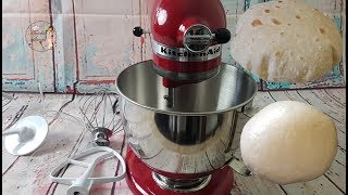 Unboxing & Review: KitchenAid Artisan 5 Qt Stand Mixer/How To Make Chapati Dough In KitchenAid
