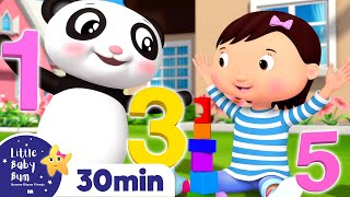 Learn To Count | 123's +Nursery Rhymes and Kids Songs | Little Baby Bum