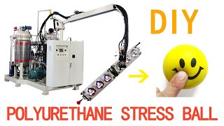 How Are Anti-Stress Balls Toy Made with China PU foam Injection Machine?
