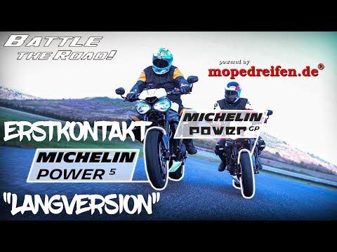 Michelin Power 5 und Power GP  - Erstkontakt by mopedreifen.de