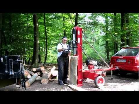 Holzspalter Benzin Spezial 40 Tonnen Saarland