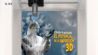 Pandemia de coronavirus subraya el potencial de la impresión 3D