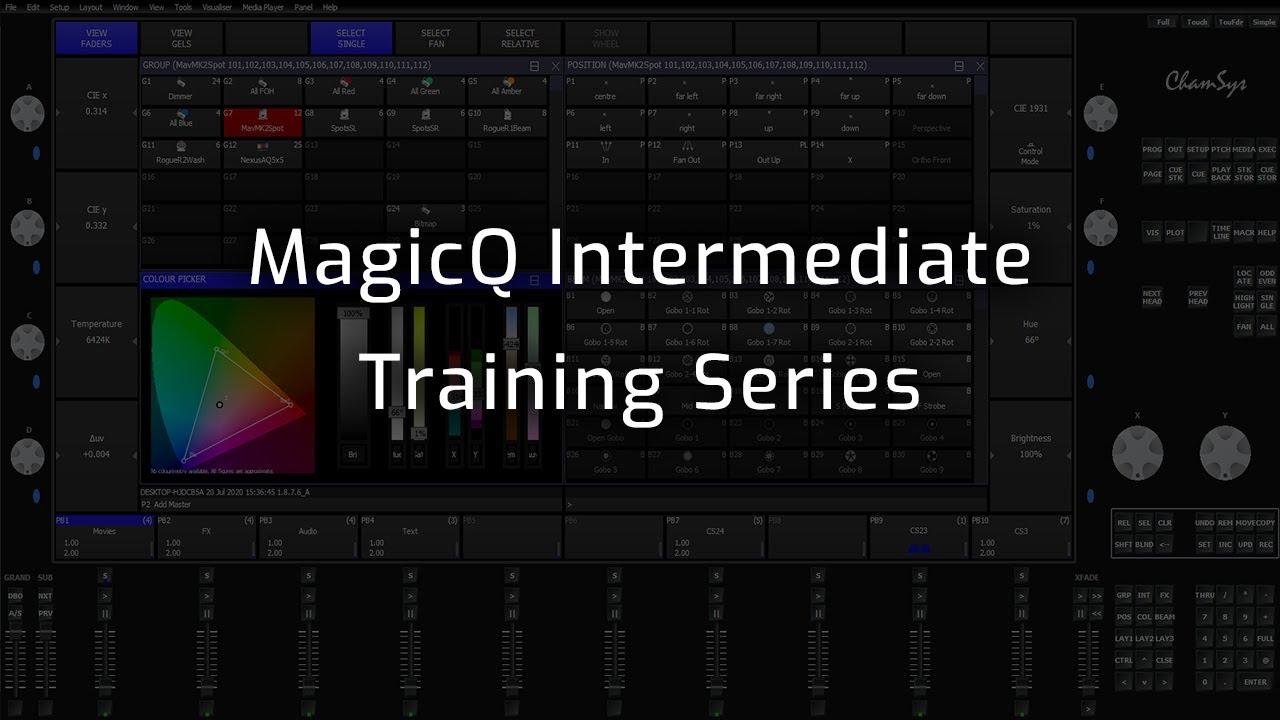 MagicQ Intermediate Training Playlist