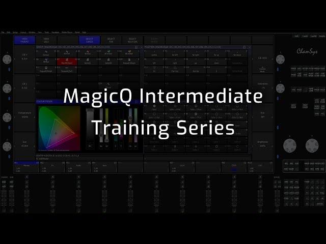 MagicQ Intermediate Training