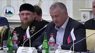 Сергей Аксенов выступил на заседании Группы в Грозном