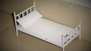 DIY - Paper Doll Bed