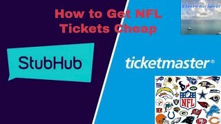 When to buy cheap nfl tickets