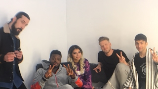 PENTATONIX Live Stream: Backstage at the IMAGINE Music Video Shoot - Video Youtube