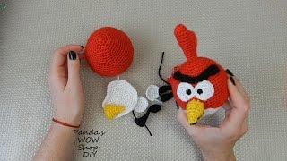 МК ★ Angry birds ★ Red ★ Вязание крючком ★ Часть 3
