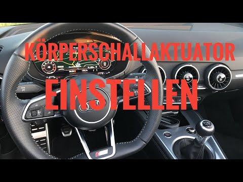 OBDeleven Audi TT 8S Soundaktuator einstellen / Anleitung / TT FV