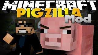 Minecraft Mod   PigZilla Mod   HAMM'S REVENGE ON TOY STORY