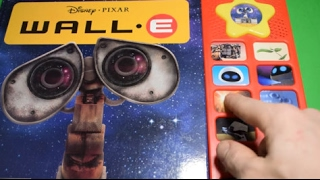 WALL-E INTERACTIVE PLAY-A-SOUND BUTTON BOOK ELECTRONIC STORY DISNEY PIXAR SOUND BOOKS FUN TOYS