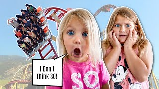 RIDING the SCARIEST Roller Coaster in the WORLD!