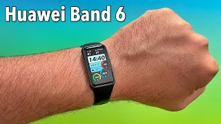 Huawei Band 6 Review - Best Affordable Fitness Tracker!