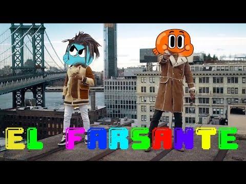 Gumball sing El Farsante Remix by Ozuna x Romeo Santos [official cartoon video]