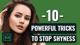 How To Stop Being Shy Around Girls (Proven Tricks)