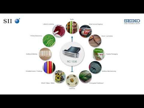 Application Clockwork - RC1536 recirculating printhead - Seiko Instruments