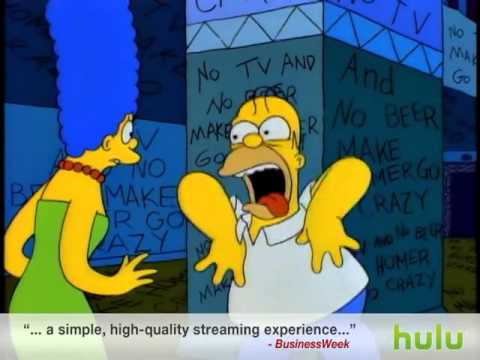 The Simpsons   No Tv and No Beer   YouTube