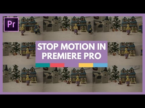 Stop Motion Animation In Premiere Pro Tutorial
