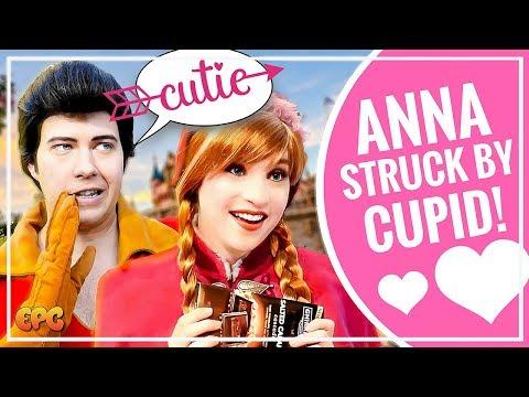 Anna loves churros at frozen meet and greet walt disney world vlog anna and elsa disneyland meet and greet w valentines day surprise m4hsunfo