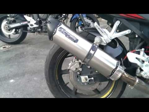 Hyosung GT650R VS Yamaha FZ6 Two Brothers Racing