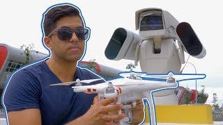 This camera detects, hacks and takes down drones | CNBC Reports