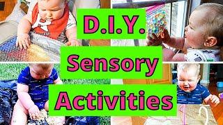EASY DIY SENSORY PLAY ACTIVITIES FOR BABIES | 10 BABY SENSORY PLAY IDEAS