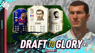 PRIME ZIDANE TIME!! | FIFA 20 Draft to Glory #2