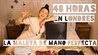 Mi MALETA De MANO | 48H En LONDRES | Dirty Closet