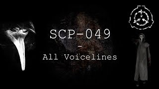 SCP-049 | All NEW Voicelines with Sutbtitles | SCP - Containment Breach (v1.3.11)