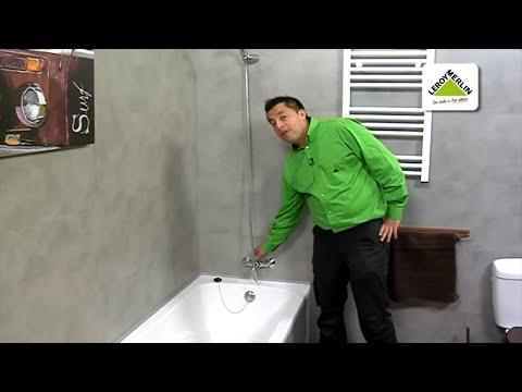 Cambiar un grifo de bañera por uno termostático (Leroy Merlin)