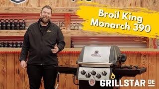 Broil King Monarch 390 Gasgrill inkl. Drehspießset (2021 Modell)