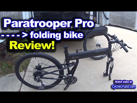 Montague Paratrooper Pro Folding Bike Review