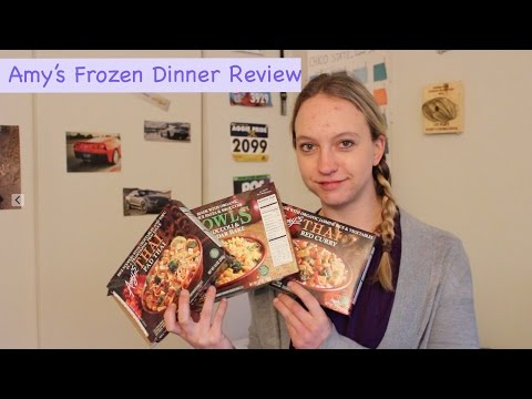 Amy's Frozen Dinner Review