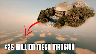 Dubais World Islands Private Mansion Tour!