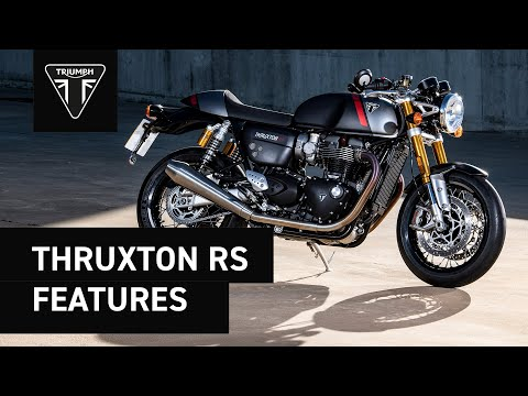 The New Triumph Thruxton RS Review and Insights
