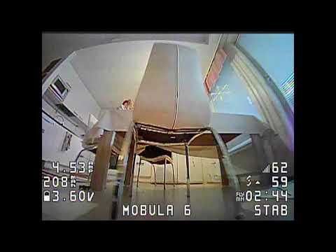 450mAh GNB 1S battery indoor test - Mobula6 (2020 #19)