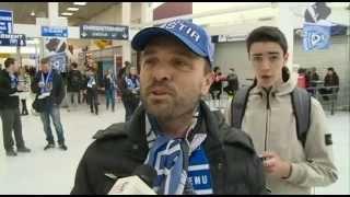 preview picture of video 'Coupe de la Ligue - Bastia, l'immense ferveur corse du peuple bleu'
