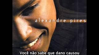 Alexandre Pires   Você Me Robou A Minha Vida   Con Subtítulos En Portugués Y En Español Latino